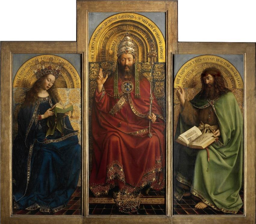 Ghent Altar (fragment) by Hubert van Eyck: History, Analysis & Facts