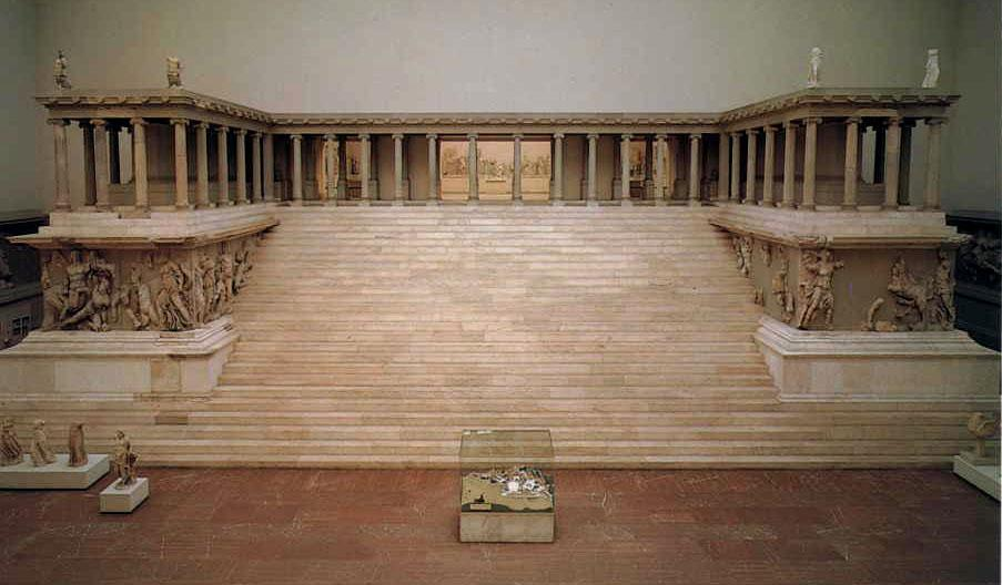 Image result for great altar of zeus