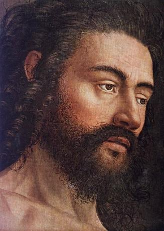 Jan van Eyck — Ghent Altarpiece: Adam (detail), ... - Art of ...