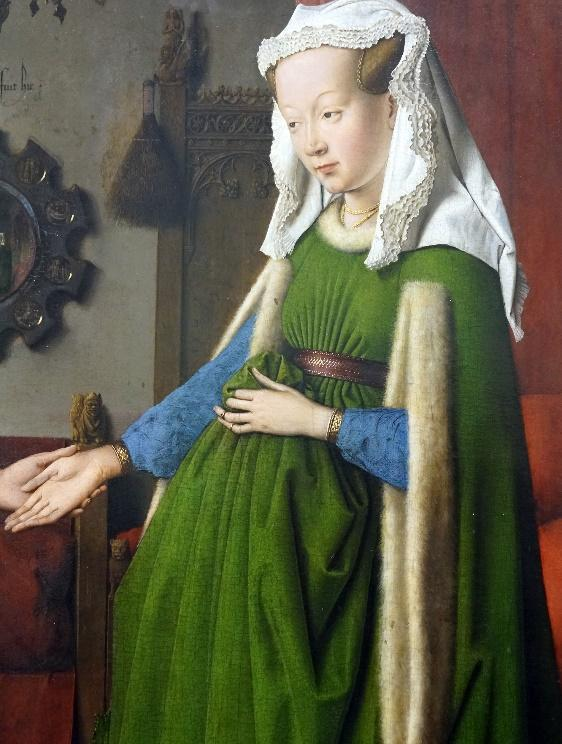 The question of pregnancy in Jan van Eyck's Arnolfini Portrait ...