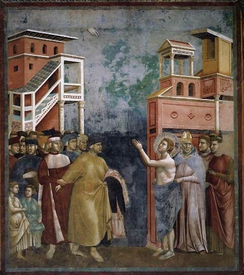 renunciation of the father giotto ile ilgili görsel sonucu