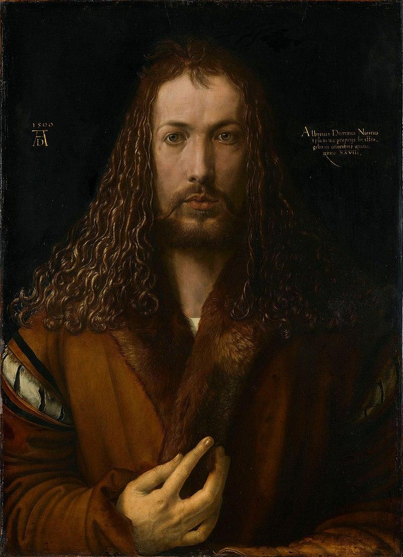 Albrecht Dürer: Self-Portrait