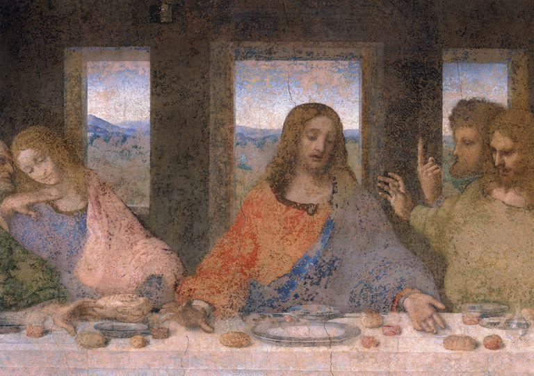 Is That a Man or a Woman in Da Vinci's Last Supper?