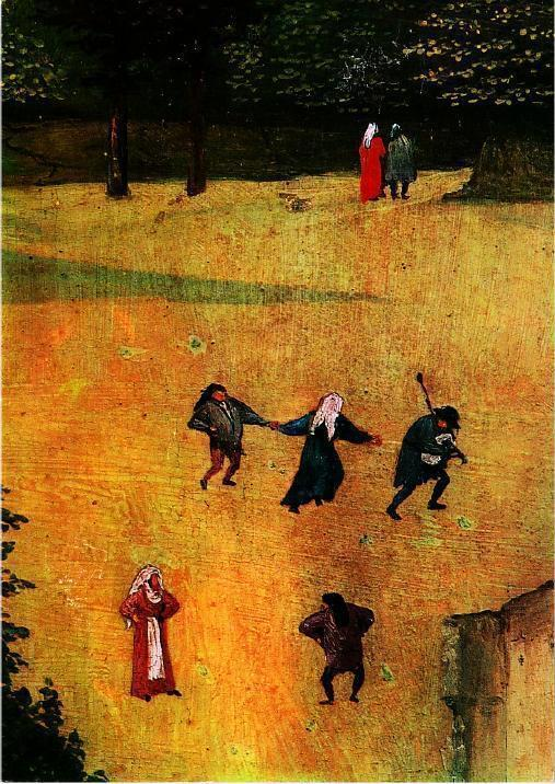 The Adoration of the Magi Detail Bagpipes Hieronymus Bosch Art ...