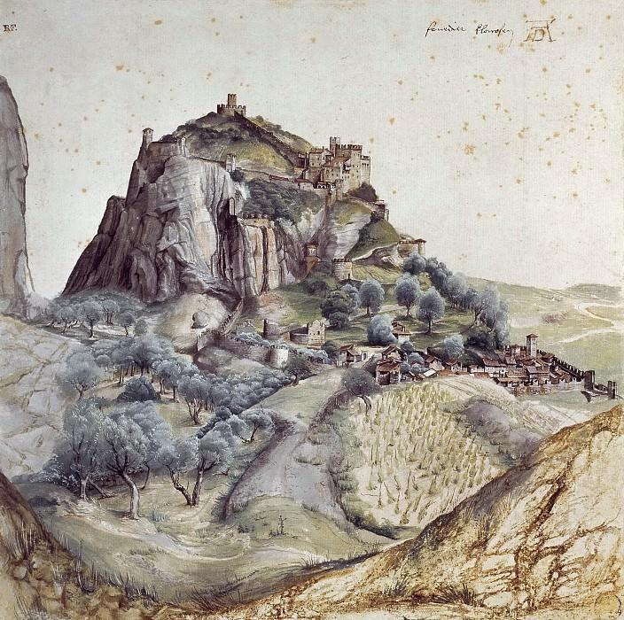 View of Arco. Albrecht Dürer