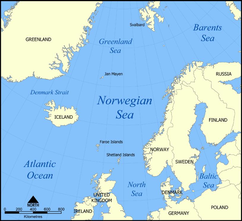 Denmark Strait - Wikipedia